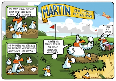 Fehmarn Comic: Martins Vaterliebe